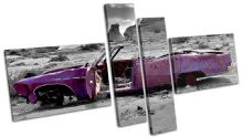 Decayed Car Purple Urban - 13-0002(00B)-MP08-LO